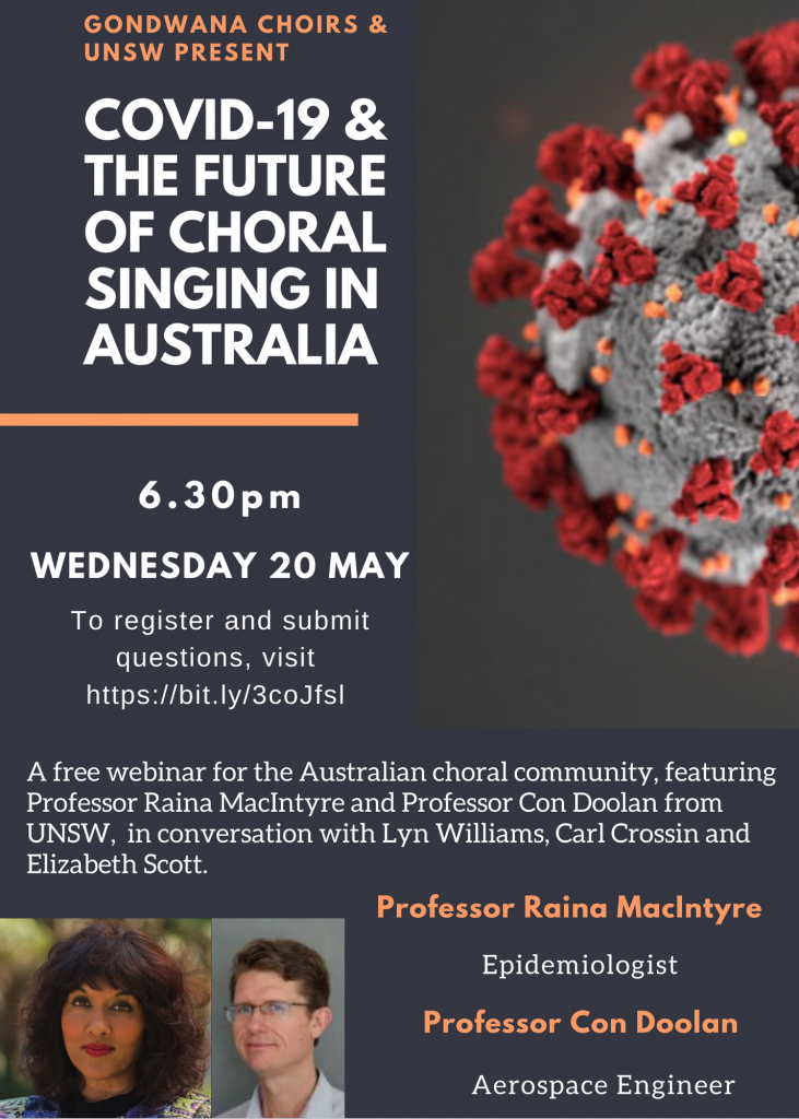 COVID-19 & the future of choral singing in Australia